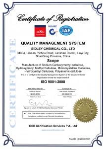 SIDLEY ISO 9001
